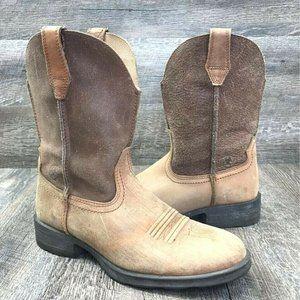 Ariat Men's Rambler Tan Western Cowboy Boot 8 D